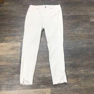Good American Good Butt White Jeans